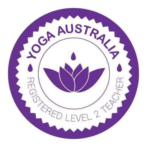 Yoga Australia Registered Level 2 Teacher