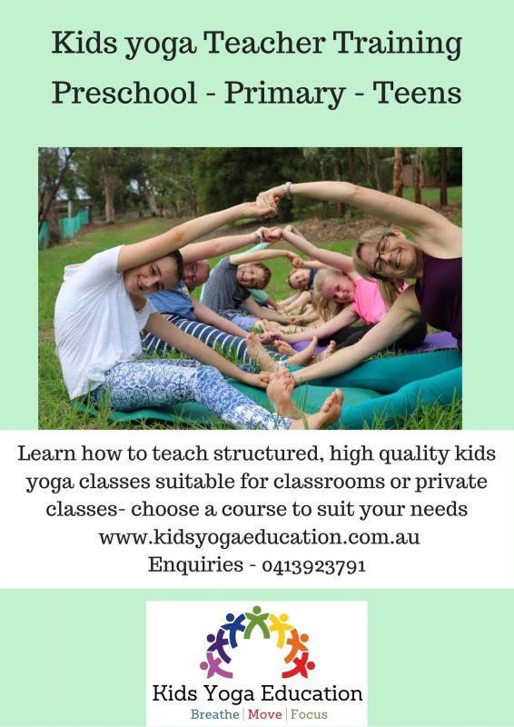 Kids Yoga Education Flyer